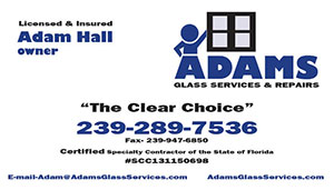Adams Glass Serivces